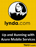 آموزش استفاده از سرویسهای Azure MobileLynda Up and Running with Azure Mobile Services