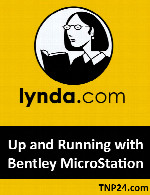 آموزش شیوه استفاده نرم افزار MicroStationLynda Up and Running with Bentley MicroStation