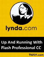آموزش Adobe FlashLynda Up And Running With Flash Professional CC