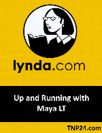 آموزش چگونگی کار در Maya LTLynda Up and Running with Maya LT