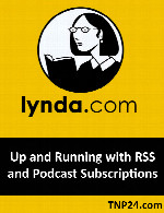 آموزش عضو شدن در RSSLynda Up and Running with RSS and Podcast Subscriptions