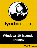 آموزش قابلیت های اساسی  Windows 10 Turorial SeriesLynda Windows 10 Essential Training