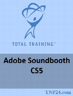 آموزش SoundboothTotal Training Adobe Soundbooth CS5