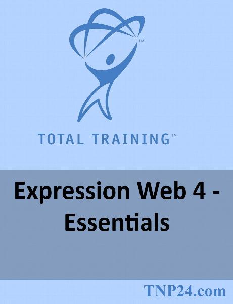 آموزش نرم افزار Expression Web 4 / Total Training Expression Web 4 - Essentials