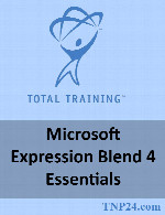 آموزش Microsoft Expression Blend 4Total Training Microsoft Expression Blend 4 Essentials
