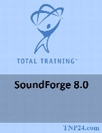 آموزش نرم افزار Sound ForgeTotal Training SoundForge 8.0