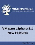 آموزش تمامی امکانات ، ابزارها و قابلیت های جدید ارائه شده در vSphere 5.1TrainSignal VMware vSphere 5.1 New Features