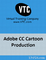 آموزش تولید یک کارتون بوسیله محصولات ادوبیVTC Adobe CC Cartoon Production
