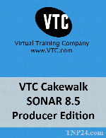 آموزش Cakewalk SONARVTC Cakewalk SONAR 8.5 Producer Edition