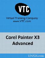 آموزش ابزارها و تکنیک های نقاشی در نرم افزار Corel PainterVTC Corel Painter X3 Advanced