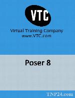 آموزش Poser Pro 2014 10.0.5.28925VTC Poser 8-AG