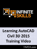 آموزش AutoCAD CivilInfiniteSkills Learning AutoCAD Civil 3D 2015 Training Video
