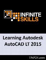 آموزش اتودسک اتوکد ال تی 2015InfiniteSkills Learning Autodesk AutoCAD LT 2015