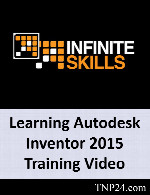 آموزش استفاده از  Autodesk InventorInfiniteSkills Learning Autodesk Inventor 2015 Training Video