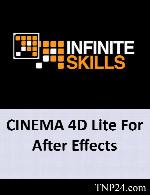 آموزش CINEMA 4D Lite For After EffectsInfiniteSkills Learning CINEMA 4D Lite For After Effects