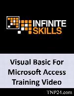 آموزش استفاده از VBA به منظور تبدیل فایل های Access به یک برنامه تمام عیارInfiniteSkills Learning Visual Basic For Microsoft Access Training Video
