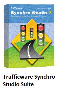 ترفیکویر سینچرو استدیو سویت / Trafficware Synchro Studio Suite v9.0.9