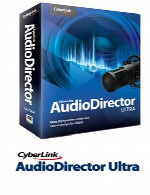 سایبرلینک آدیو دایرکتورCyberLink AudioDirector Ultra 7.0.6822