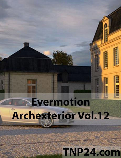 آرک اکستریور شماره  12 / Evermotion Archexterior Vol 12