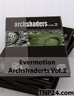 اورموشن آرک شیدر 2Evermotion Archshader Vol 2