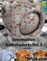 اورموشن آرک شیدر 3Evermotion Archshader Vol 3