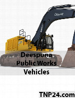 Deespona Public Works Vehicles 3D Objects