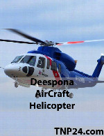 Deespona AirCraft Helicopter 3D Objects