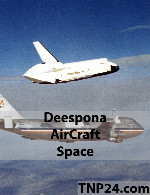 Deespona AirCraft Space 3D Objects
