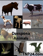 Deespona Animals 3D Objects