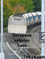 Deespona Vehicles Trains 3D Objects