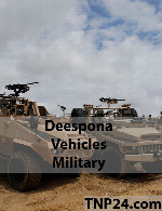 Deespona Vehicles Military 3D Objects