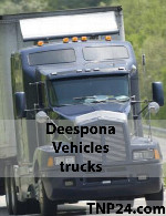 Deespona Vehicles Trucks 3D Objects