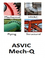 ASVIC Mech-Q Full Suite v4.00.013 for AutoCAD 2010-2017
