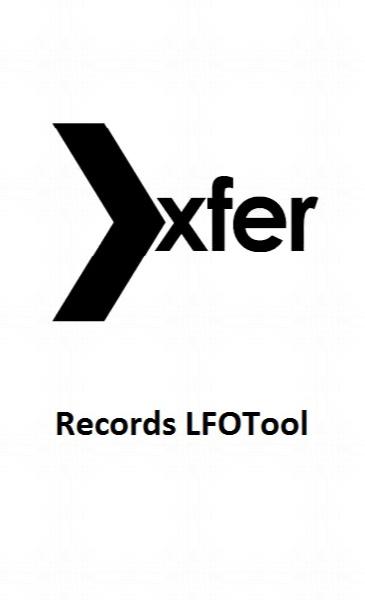 Xfer Records LFOTool v1 2 99
