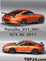 Porsche 911 997 GT3 RS 2011 3D Object