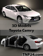 Toyota Camry 3D Object