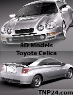 Toyota Celica 3D Object