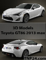 Toyota GT86 2013 3D Object