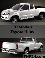 Toyota Hilux 3D Object