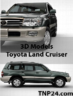 Toyota Land Cruiser 100 3D Object