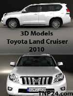 Toyota Land Cruiser 2010 3D Object