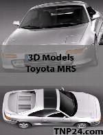 مدل سه بعدی تویوتا  ام آر اسToyota MRS 3D Object