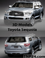 Toyota Sequoia 3D Object