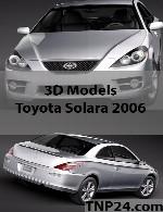 مدل سه بعدی تویوتا سولاراToyota Solara 2006 3D Object