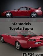 مدل سه بعدی تویوتا سوپراToyota Supra 3D Object