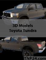مدل سه بعدی تویوتا توندراToyota Tundra 3D Object