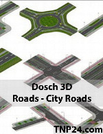 Dosch 3D - Roads - City Roads