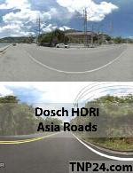 محیط هایی از جاده های آسیایی با فرمت HDRIDosch 3D - HDRI - Asia Roads