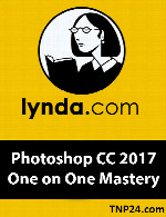 آموزش فتوشاپ سی سی 2017Lynda Photoshop CC 2017 One on One Mastery