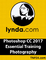 آموزش فتوشاپ سی سی 2017Lynda Photoshop CC 2017 Essential Training Photography